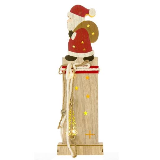 Decoratiune luminoasa Santa Gift