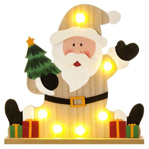 Decoratiune luminoasa Santa