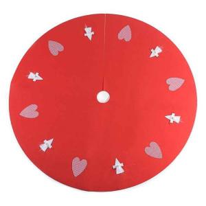 Covoras brad Heart Red