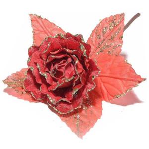 Peonia Red Glitter