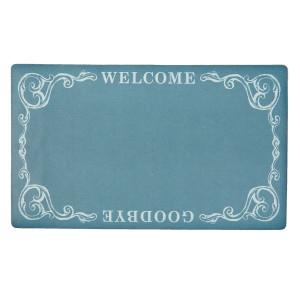 Covoras intrare albastru Welcome 74*44 cm