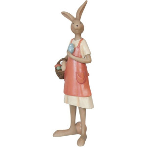 Figurina Iepuras Paste Girl polirasina 8*8*25 cm