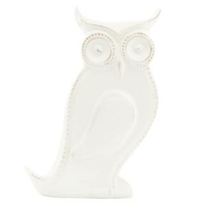 Suport lumanare Owl White