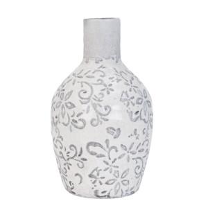 Vaza Grey Flowers